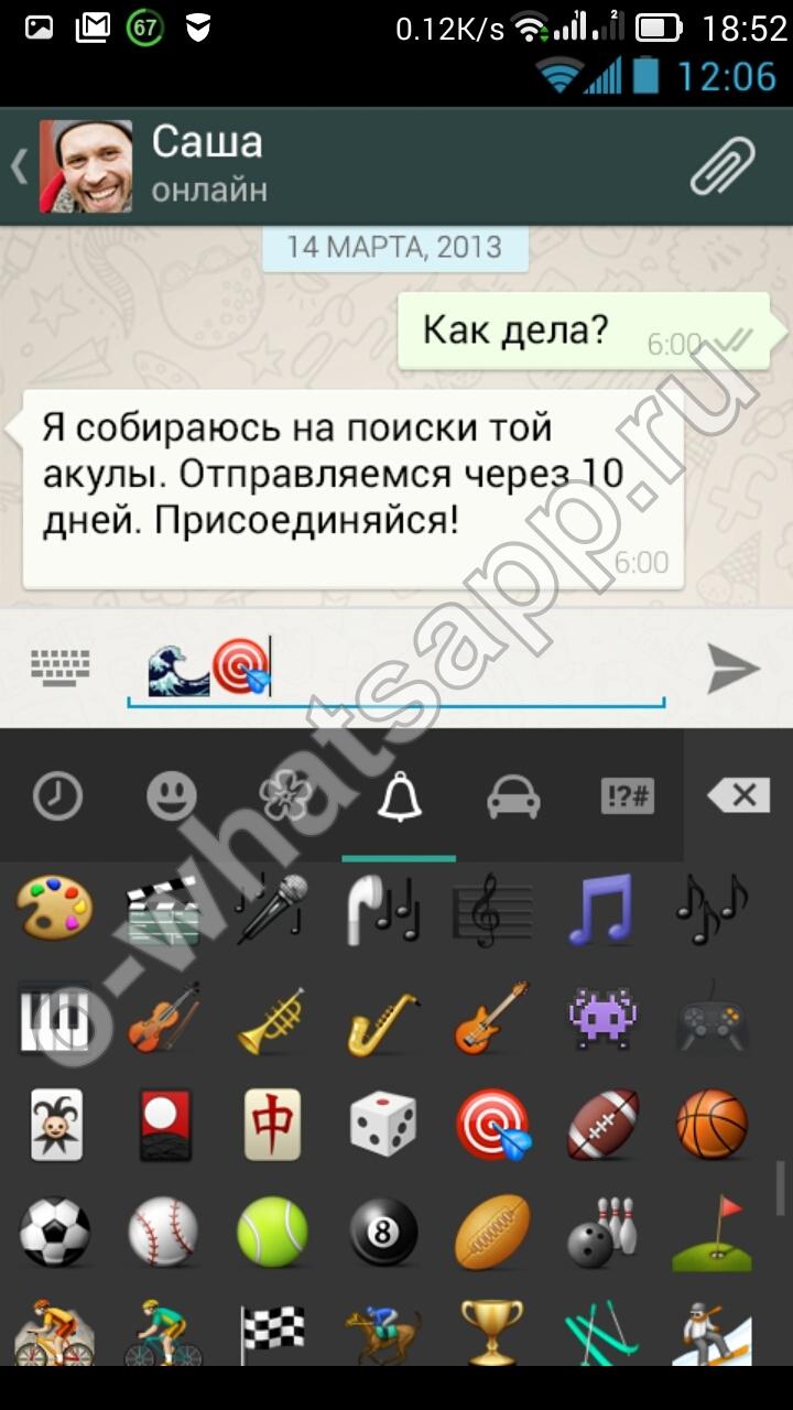 Возможности приложения WhatsApp