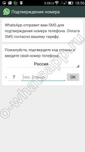 Установка приложения Whatsapp