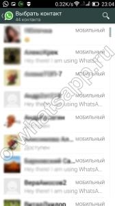 Как создать чат в Whatsapp?