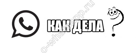 Как переводится на русский язык название приложения WhatsApp?