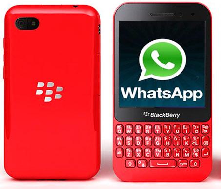 В WhatsApp для BlackBerry есть голосовые звонки