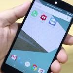 Новый облик WhatsApp на Android 5.0
